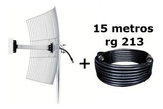 Antena Celular De Grade Para Telefonia Celular 4g 20 Dbi