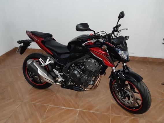 Honda Cb 500 F Abs 2019 Preta