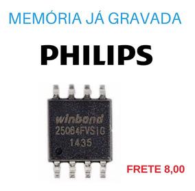 Memória Gravada Philips 32pfl3008d/78 Frete 8,00