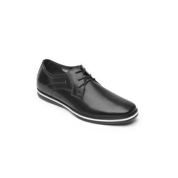 Zapato Derby Flexi Caballero 58301 Negro Liso