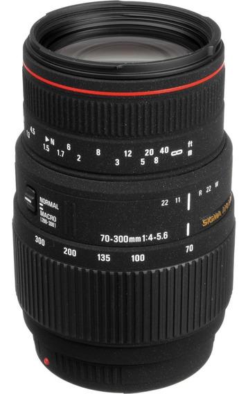 Lente Sigma Sony Dg 70-300mm F4-5.6 Macro Para Sony Minolta