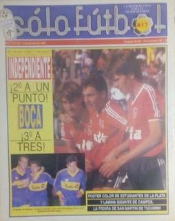 Solo Futbol N°172 Ñuls Finalista Copa,poster Estudiantes(lp)
