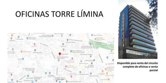 Oficinas Torre Limina De 38m2 Y 86m2 Baruta