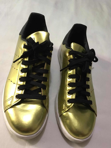 adidas Tenis Casuales Para Caballero Dorados 25 Mex