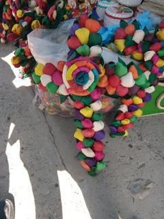 Cruz De Flores De Maíz Artesanía + Envio Gratis