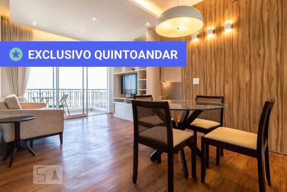 Studio No 15º Andar Mobiliado Com 1 Dormitório E 1 Garagem - Id: 892969445 - 269445