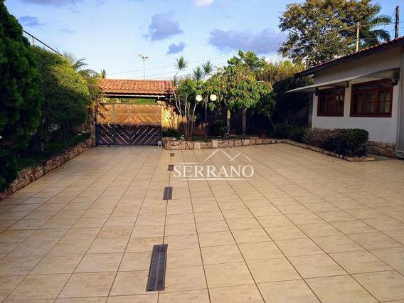 Casa Com 3 Dormitórios À Venda, 400 M² Por R$ 1.600.000,00 - Condomínio Chácaras Do Lago - Vinhedo/sp - Ca0372