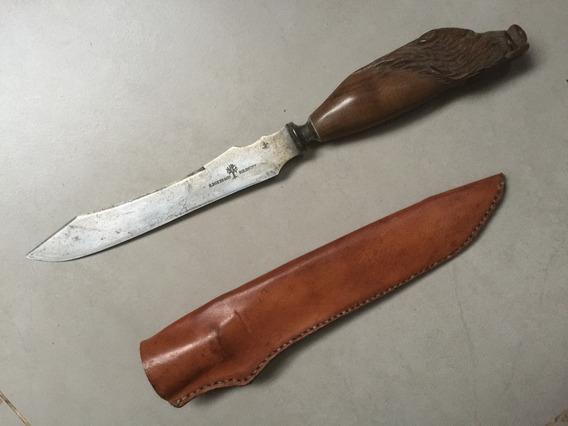 Antiguo Cuchillo Trinchar H.boker & Co Hoja 20 Cms Solingen