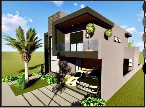 Maravilhoso Sobrado Em Construção 3 Suítes E Piscina, 221 M² Por R$ 1.300.000 - Condomínio Ibiti Royal Park - Sorocaba/sp - Ca1063