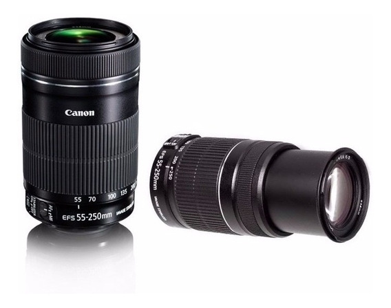 Lente Canon Ef-s 55-250mm F/4-5.6 Is Stm Garantia Canon Nf-e