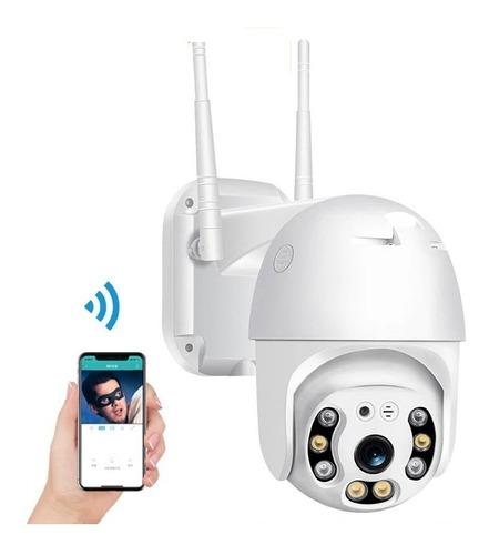 Smart Camara Ip Wifi Alarma Exterior Anti Agua Ip66 / 221019