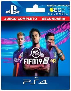 Juego Digital Fifa 19 Champions Edition Ps4 Desde Tu Perfil