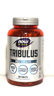 Tribulus Terrestris 1000mg 180 Tbs Now Sports Nova Embalagem