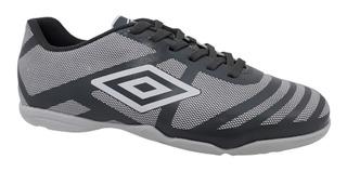 Chuteira Futsal Umbro Carbon Brancp Grafite 748676