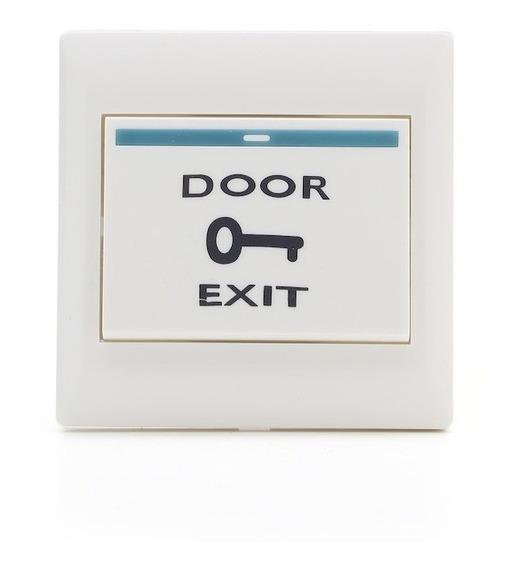 Boton Salida Pulsador Control Acceso Tecla Puerta Seguridad