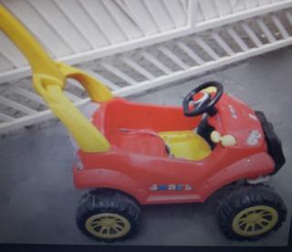 Carro Smart Vermelho Bandeirantes