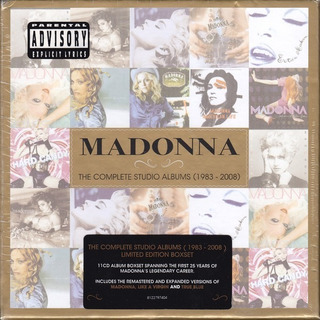 Tnms Cd Madonna the Complete Studio Albums (1983-2008)11cd
