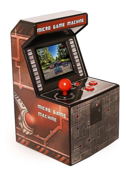 Micro Arcade Machine 200 Jogosvideo Game Mini Fliperama
