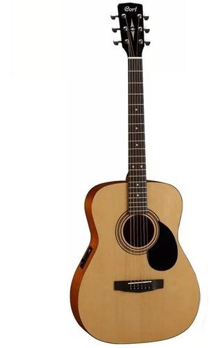 Imagen 1 de 2 de Guitarra Electroacústica Cort Af510e Op