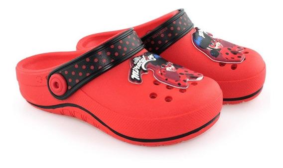Clog Infantil Ladybug Love Dots 21693