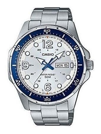 Relógio Casio Analógico - Modelo Mtd100d-7a2wc - Original