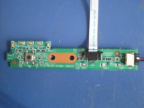 Placa Botão Power Com Flat Cce Onix 345pe+