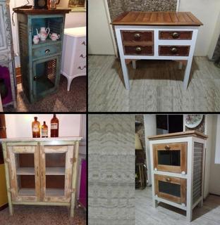 Mueble Aparador Vanitory Arrime Rustico Vintage Consultar!!