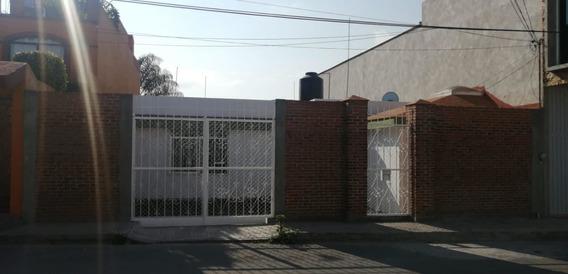 Venta Casa En Una Sola Planta, Tres Cruces , Puebla