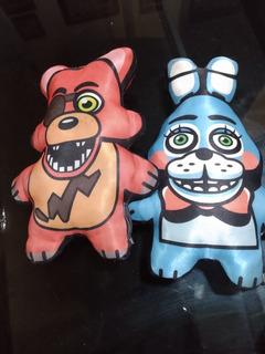 Muñecos Tipo Almohada Five Night At Freddy.precio Es X 2