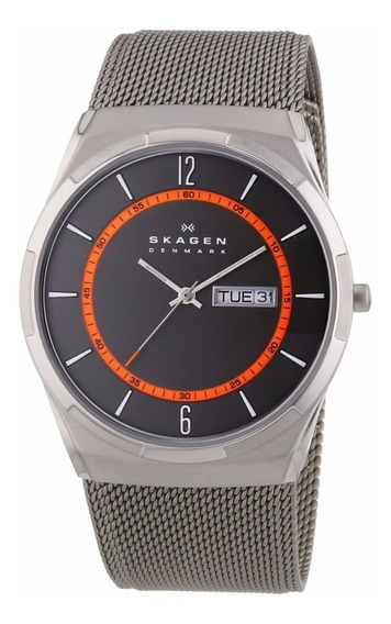 Relógio Skagen Masculino Skw6007 Grafite - Nota Fiscal