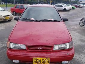Hyundai Excel 1994 Rojo