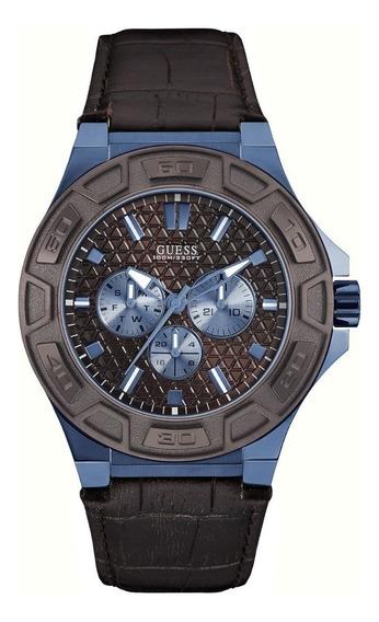 Relógio Masculino Guess Marrom 92587gpgsec4 Garantia C/ Nfe