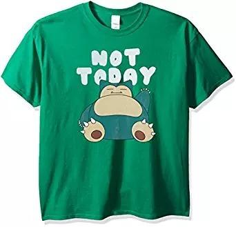 Camiseta Pokemon Para Hombres De Snorlax