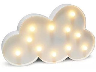 Lampara Velador Infantil. Luz De Noche. Modelo Nube !! Bebe