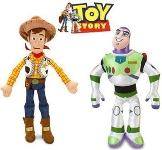 Juguete Disney Toy Story Woody And Buzz Lightyear Plush Doll