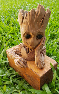 Baby Groot Maceta 15cm Impresa 3d - Cod.bm003