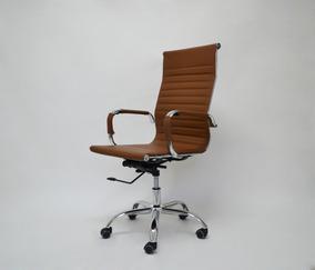 Cadeira Escritório Charles Eames Presidente Esteirinha