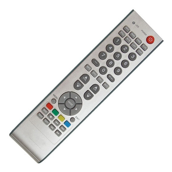 Controle Remoto Tv Lcd Buster
