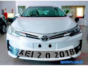 Toyota Corolla Xei 2.0 16v 17/18 $96,9k Varias Cores