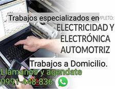 Servicio Electricidad Y Electrónica Automotriz A Domicilio