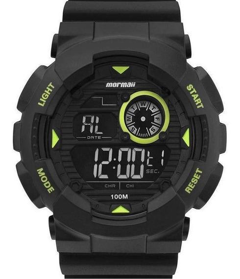 Relógio Mormaii Masculino Grande Digital Mo3415c/8v Com Nf