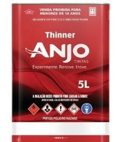 Thinner 2750 5 Litros Anjo , Profissional.