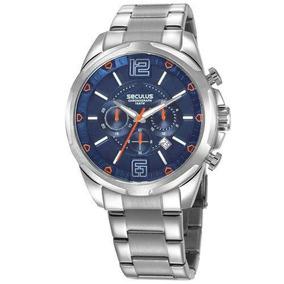 Relógio Seculus Masculino Cronógrafo 28957g0svna2