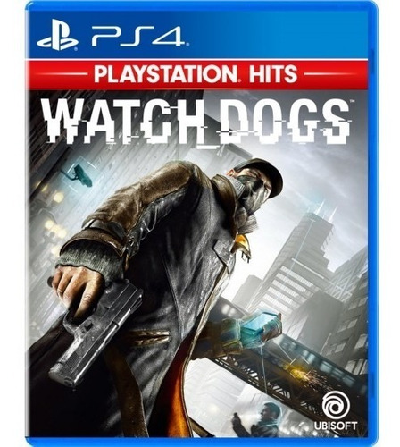 Watch Dogs - Fisico Ps4 Usado