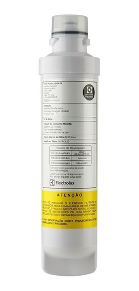 Refil Filtro Purificador De Água Electrolux Pe10b - Original