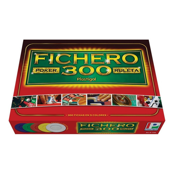Fichero Poker Plastigal (12614)