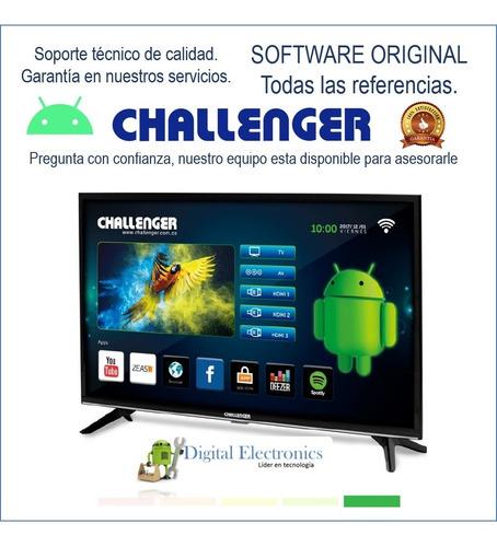 Software (firmware) Tv Challenger Garantizado--leer Descripc