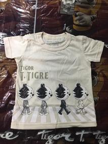 Camiseta Menino Tigor T Tigre Baby Alto Verão 2018