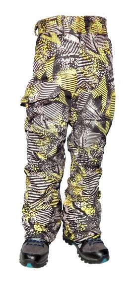 Pantalon Ski Niños Impermeable Con Trampa Nieve Jeans710