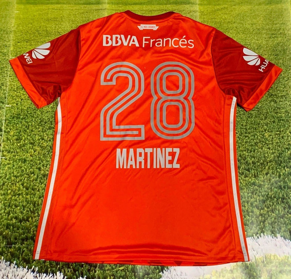 Camiseta River 2017 Roja 28 Martinez Quarta De Coleccion !!